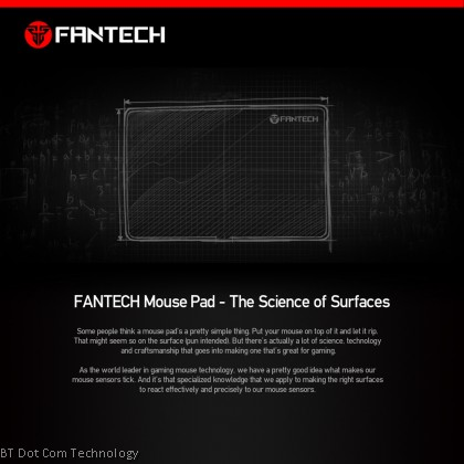 FANTECH Sven MP35 Gaming Mousepad